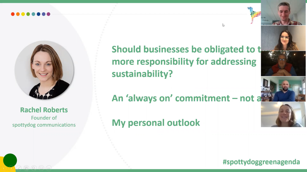 Putting climate action on the business agenda at our latest spotlight event