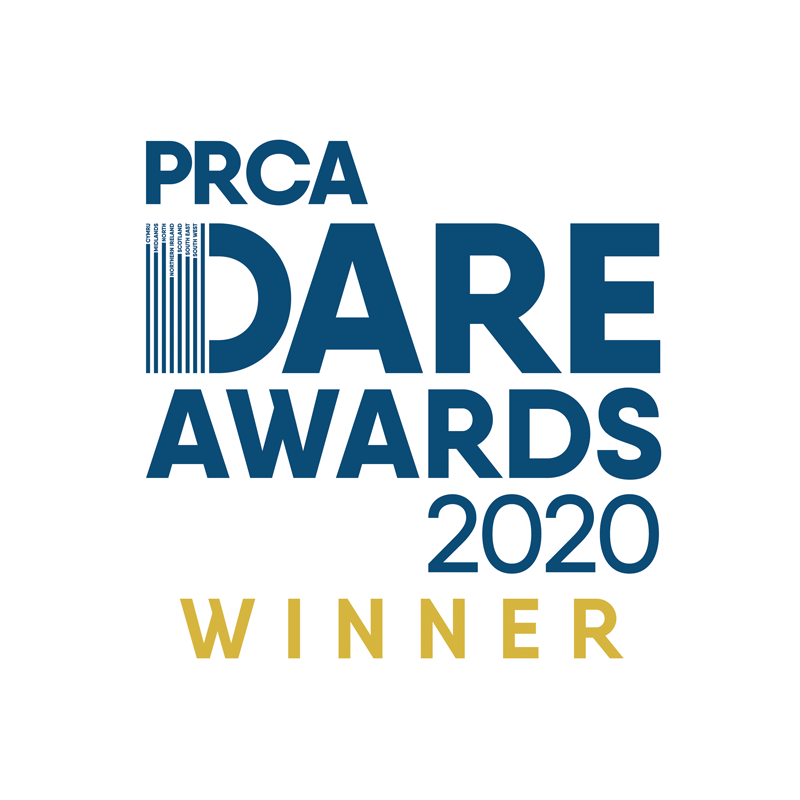 PRCA Dare Awards 2020 Winner