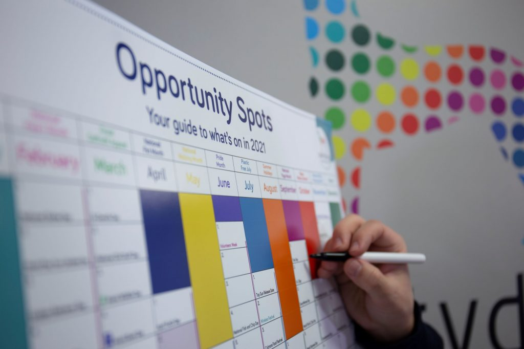 Social Media Planner: Download Your Copy Of Our Opportunity Spots Planner