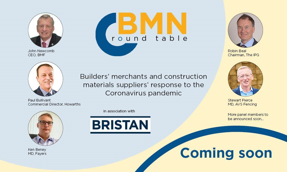 Bristan Virtual Event: Builders' Merchant News Roundtable Success