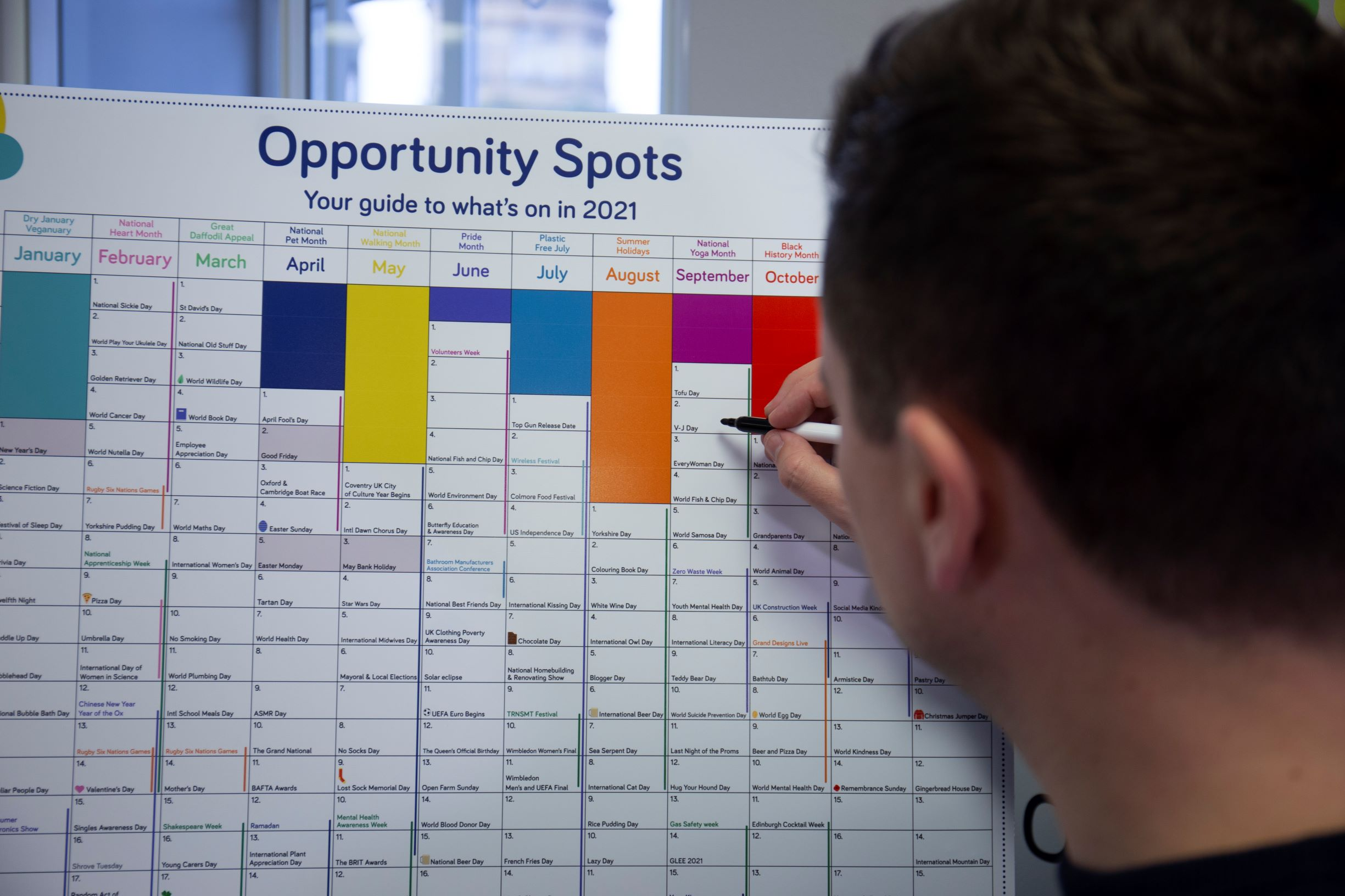 Social Media Strategy: Download your copy of our Opportunity Spots planner