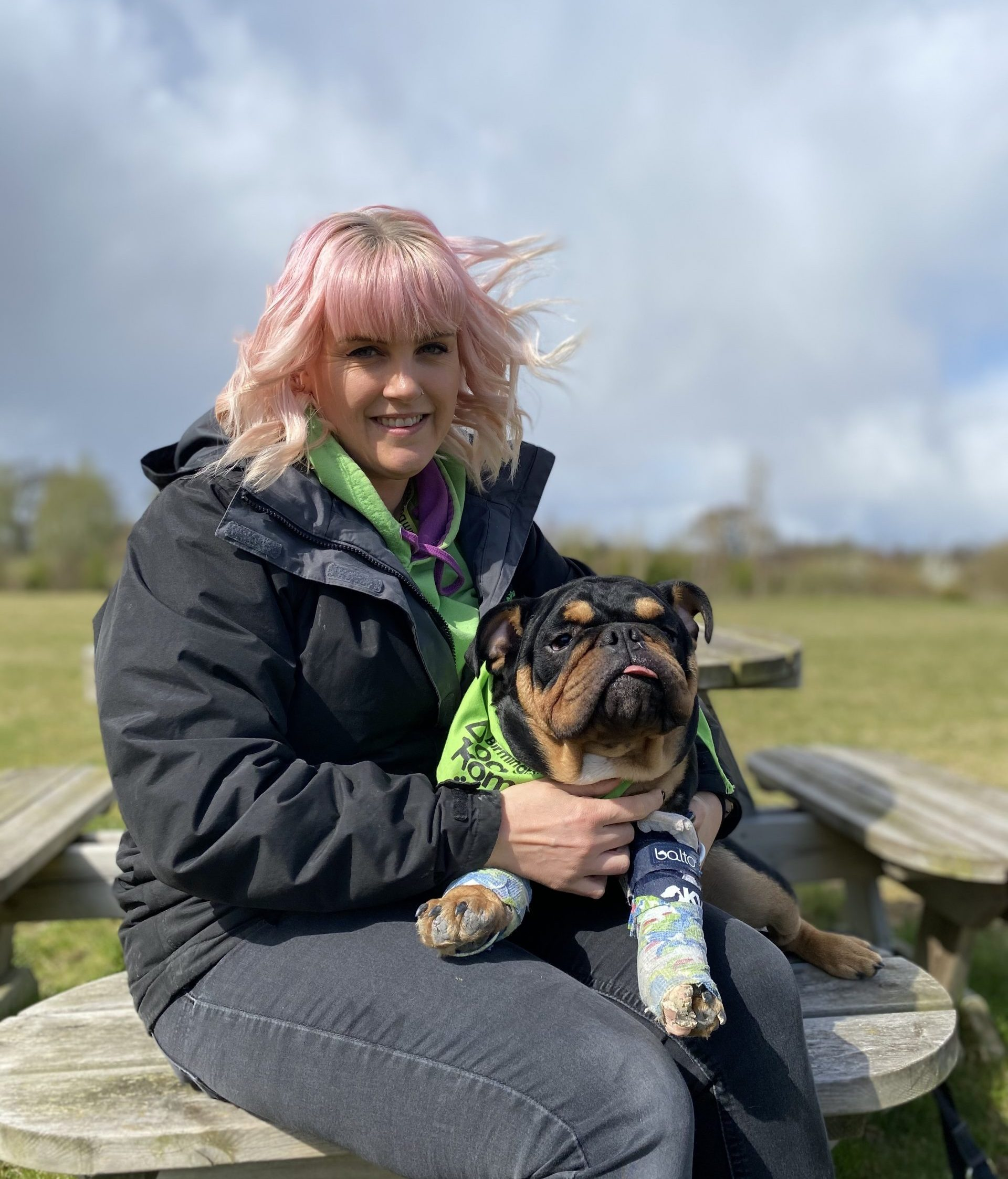 How we're helping 'pawly' pooches through our partnership with Birmingham Dogs Home