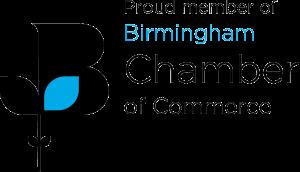 Proud Member of the Birmingham Chamber of Commerce